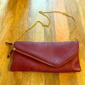 Handbags - Burgundy cross body bag